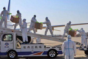 الصين ترسل دفعة جديدة من المساعدات الطبية الخاصة بكورونا إلى مصر
